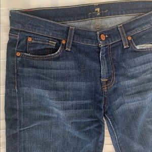 7 For All Mankind Cuffed Jeans